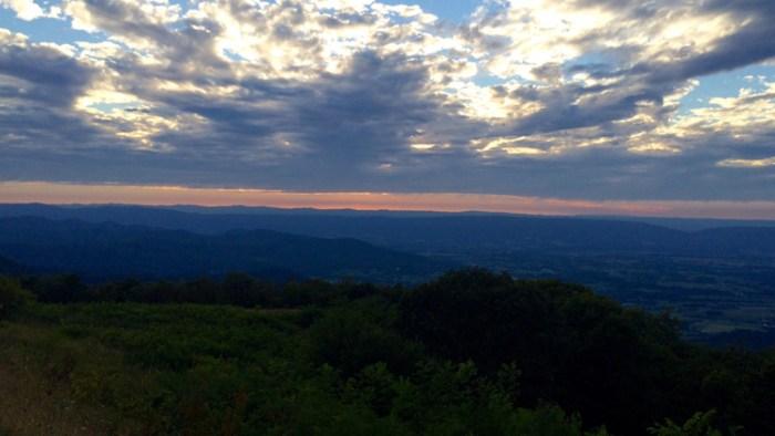 Shenandoah Sunset 1