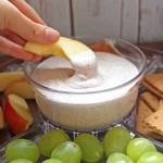 Creamy Vegan Fruit Dip