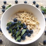 Blueberry Basil Overnight Oats