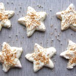 Gold Star White Chocolate Cookies