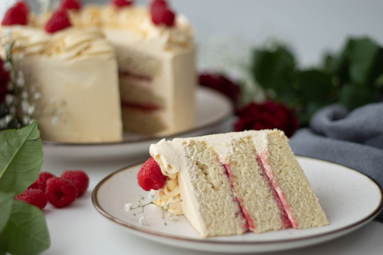 A heavenly slices of cake