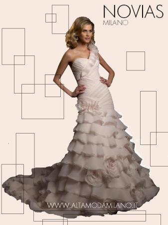 37609072a06c Abito da sposa 2012 colorato ROSA antico