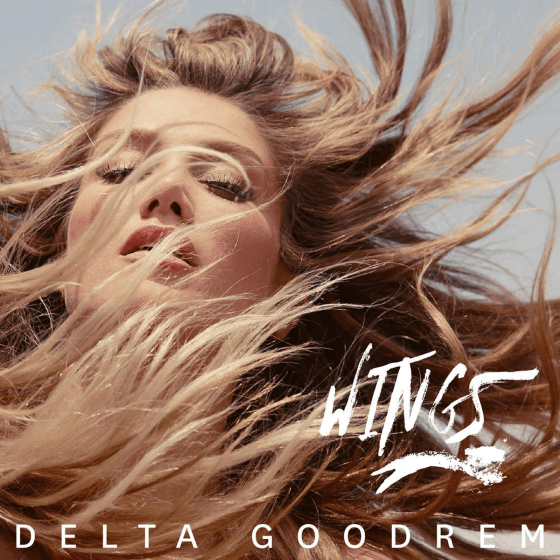 Delta Goodrem Wings cover