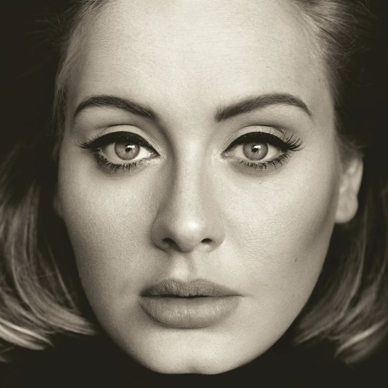 Adele 25 cover art