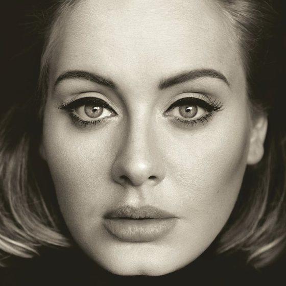 Adele 25 cover art
