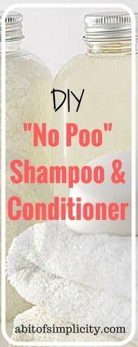 """DIY """"No Poo"""" Baking Soda Shampoo and Vinegar Conditioner"""