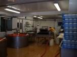 Zicht op de productieruimte