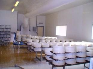 La salle de moulage bij 28 à 30° C