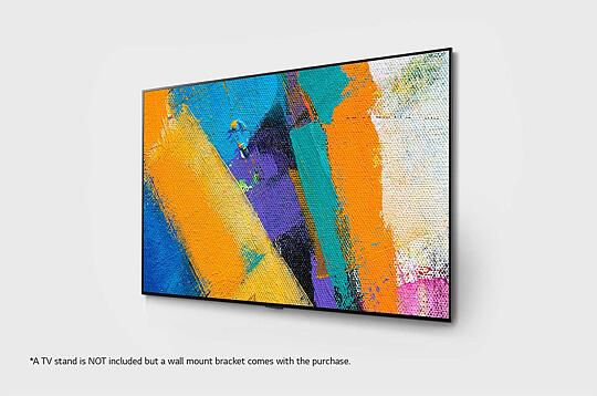 LG 65 inch GX Class with Gallery Design 4K Smart OLED TV
