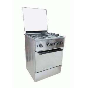 Maxi 6060 Gas Cooker TR 3+1 IGL Inox