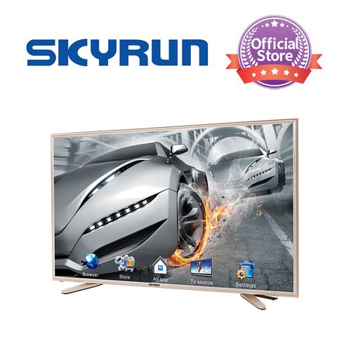 Skyrun 55 Inches Smart UHD 4K TV With Free Hanger