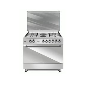 MAXI Gas Cooker Style 60 * 90 TR (4+2) Mat INOX