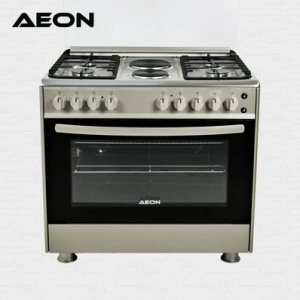 Aeon Gas Cooker 90×60 4 Gas + 2 Hot Plate