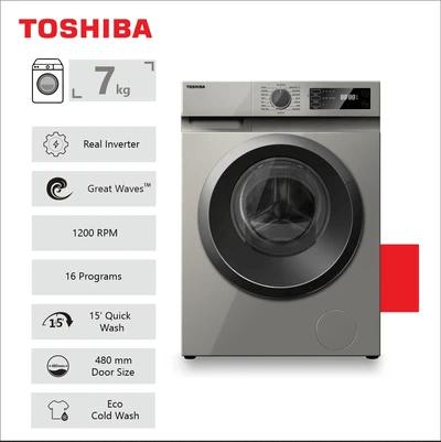 Toshiba 7Kg Front Loader Washing Machine