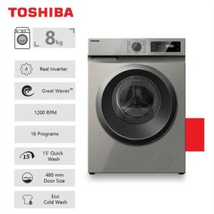 Toshiba 8Kg Front Loader Washing Machine