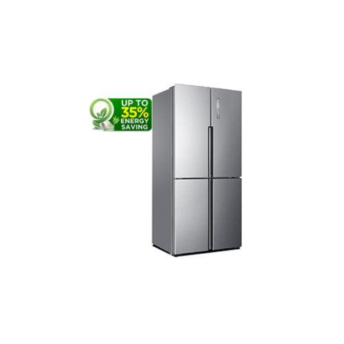 HaierThermocool HRF-456 DM R600 American-Style Fridge Freezer – Silver