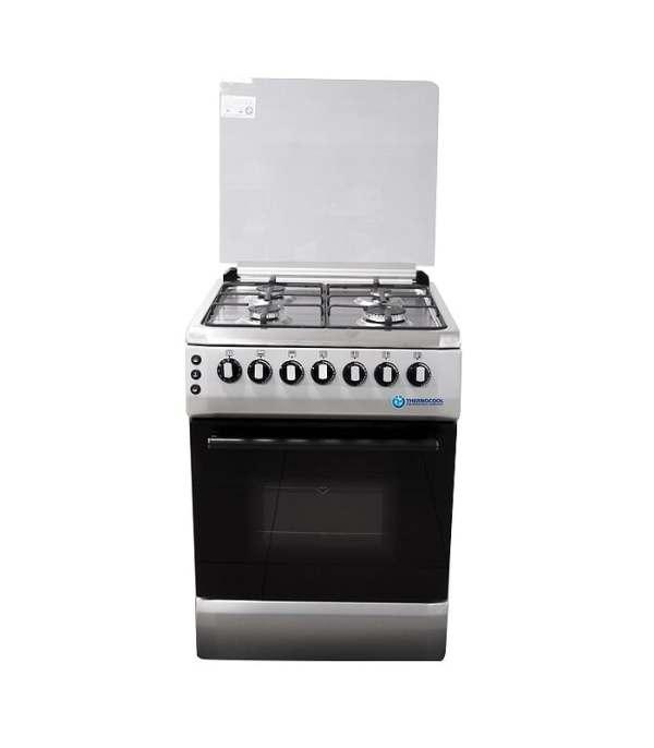 Haier Thermocool 4 Burner Gas Cooker OG-6840 Inox