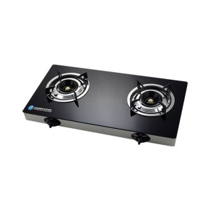 Haier Thermocool Table Gas Cooker -2GA Glass Duo