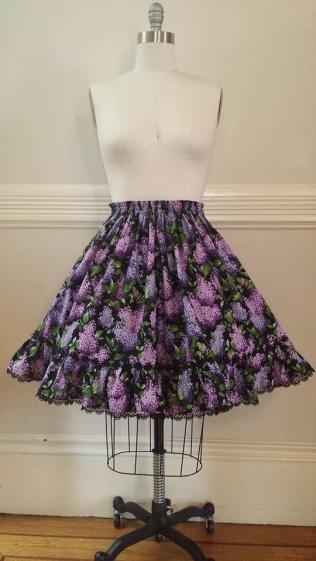 Dark Lilac Skirt