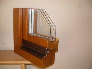 88mm-es borovi fenyő ablak