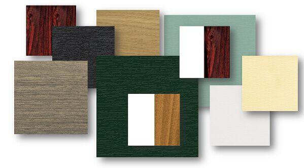 fahatású színes műanyag ablak