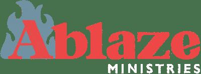 Ablaze Ministries_secondary mark_dark background