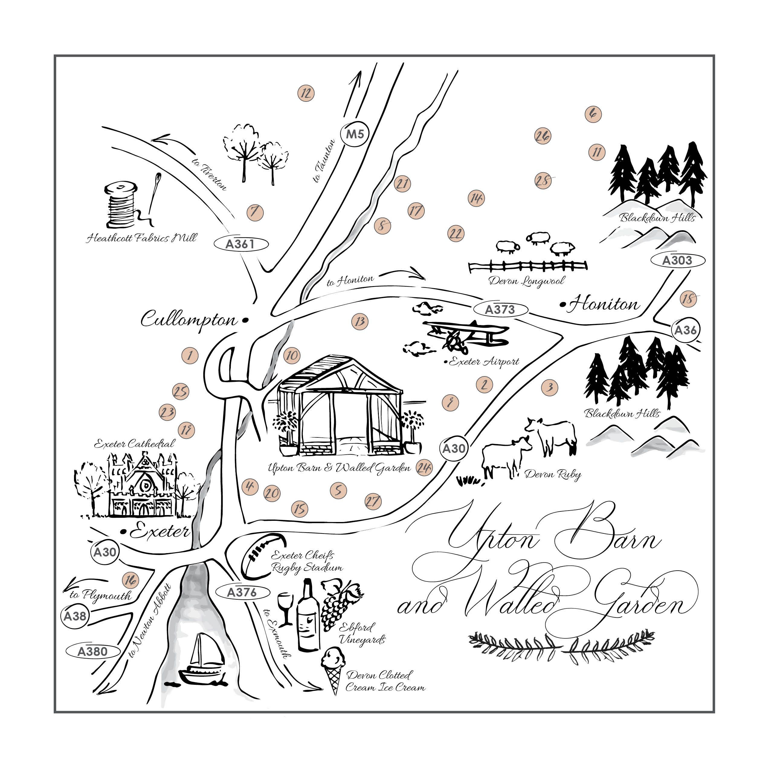 Wedding Map