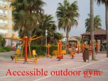 Accessible Outdoor Gym