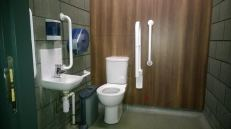 Accessible Toilet in the 3 Arena