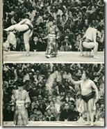 Борьба сумо. И СОЛЬ!