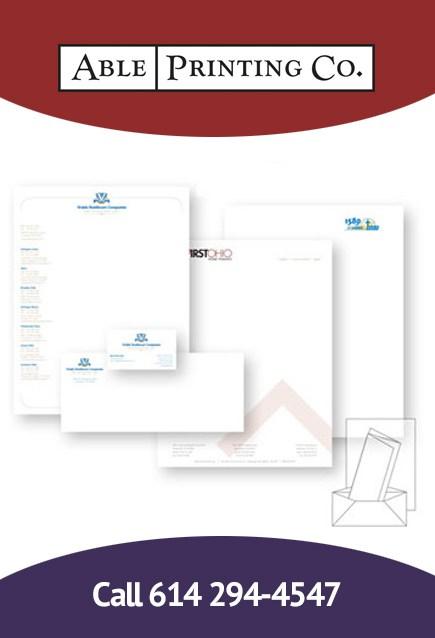 Stationary printing & letterhead