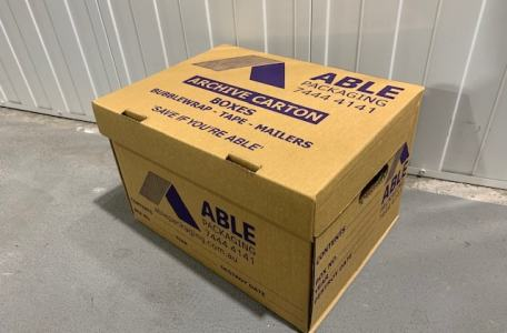Archive Carton Cardboard Adelaide, storage box, Business Storage Archive box Document Storage