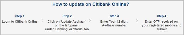 Citibank Account Me Internet Banking Se Aadhaar Link इस तरह करे