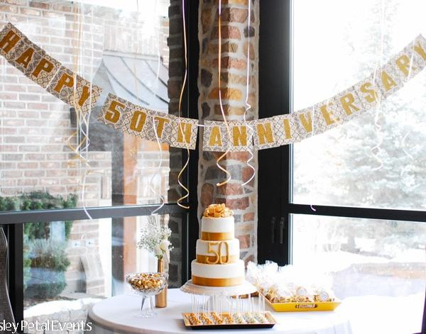 {BN Black Book of Parties} – Golden 50th Wedding Anniversary