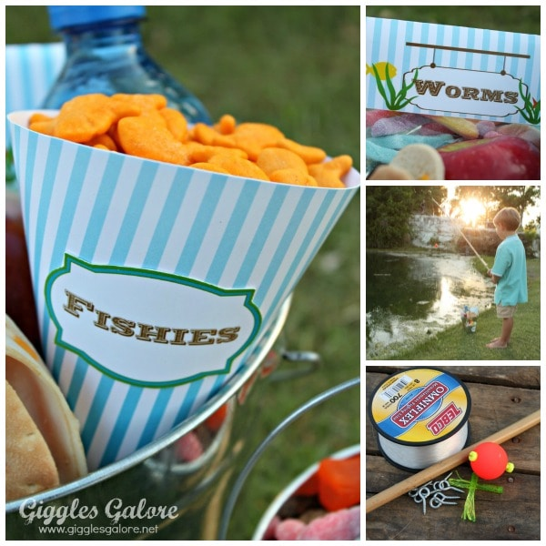 Fishing Party Printables