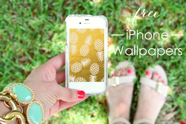 Free iPhone Wallpapers - Summer Edition - A Blissful Nest