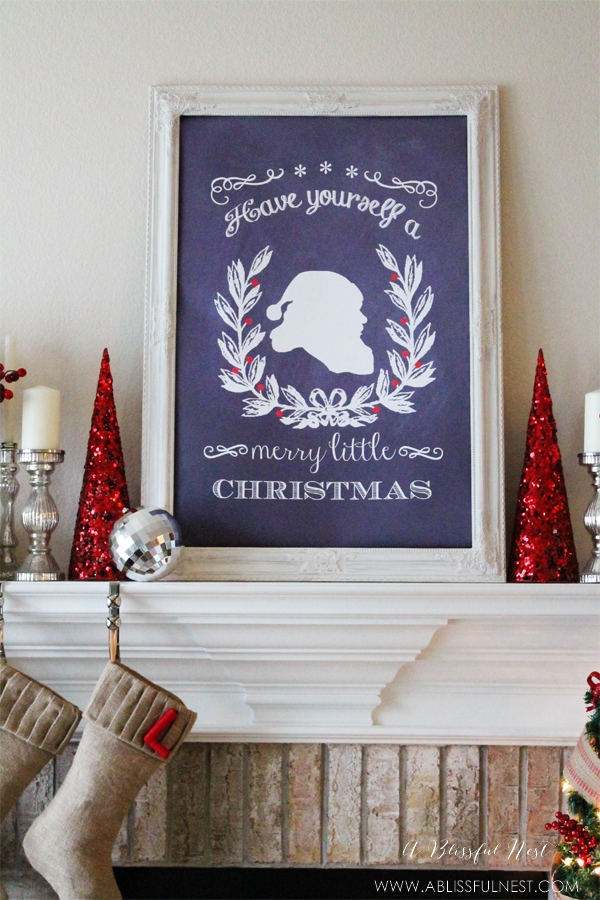 Christmas Home Tour by A Blissful Nest