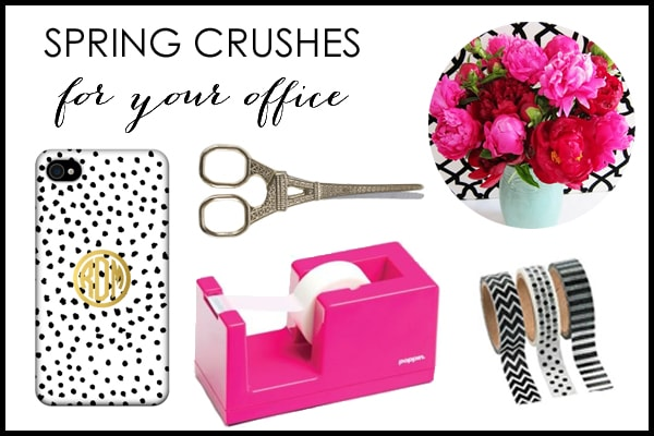 Spring Crushes For Your Desk – Office Style