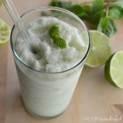 Mojito Lime Mint Smoothie