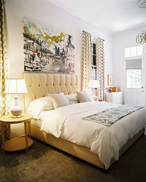 ideas for decorating over the bed