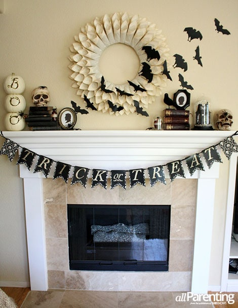 All Parenting Halloween Mantel