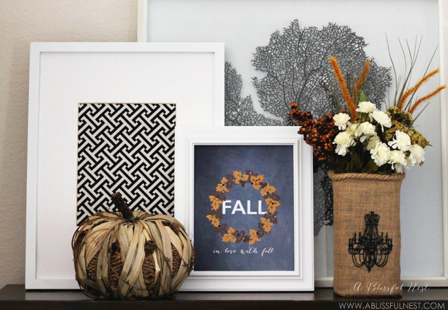Fall Free Printable by A Blissful Nest 004