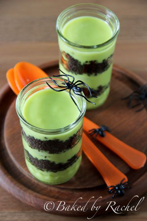 Halloween Goblin Goo Parfaits