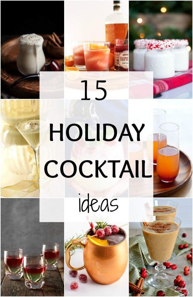 having a holiday party soon? Then grab the recipe for some of the best Christmas Cocktails on the web via A Blissful Nest.