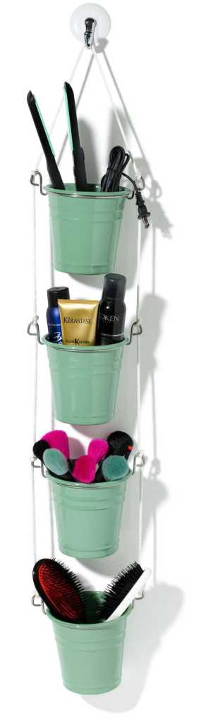 Hanging Bucket Organizer by Glamour