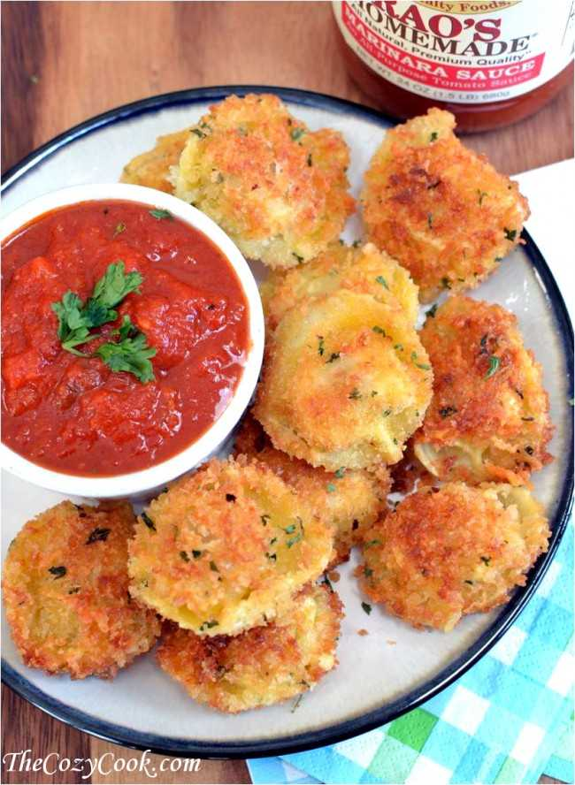 Parmesan Crusted Tortellini Bites, 25 Best Appetizers to Serve