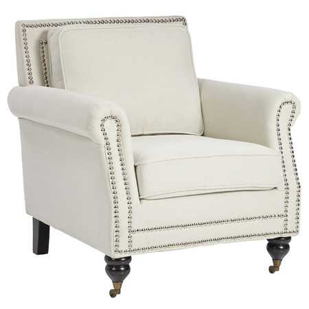 Adore The Nailheads On This Accent Chair! 25 Of The Best Affordable Accent  Chairs On