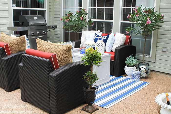 if you ve got a small patio then you are not alone but you