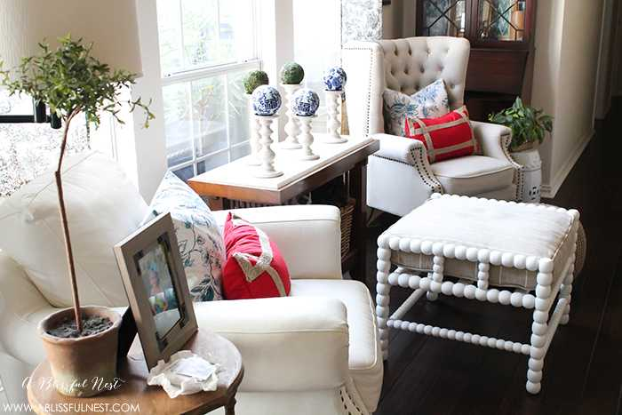 4th Of July Mantle Decor By A Blissful Nest