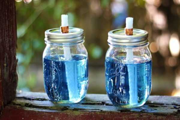 Citronella Candles, 20 Ways to Use Mason Jars